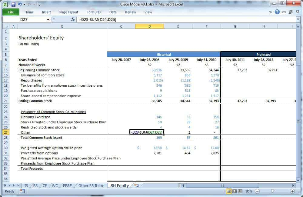 6+ Equity Reconciliation Report Templates